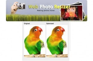 Retocar fotos con Web Photo Resizer