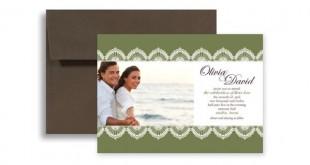 Plantillas gratis para invitaciones de boda