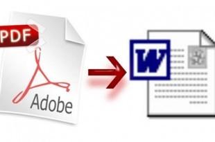 Convertir online PDFs en documentos Word, de Investintech