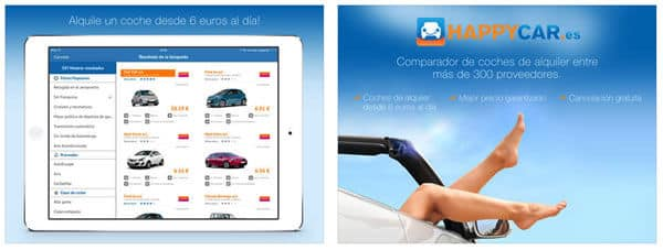 HAPPYCAR en iPad