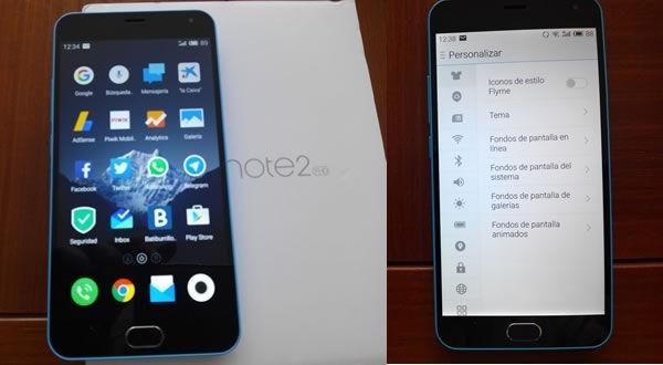 Acabo de probar el MEIZU M2 Note 4G LTE Phablet