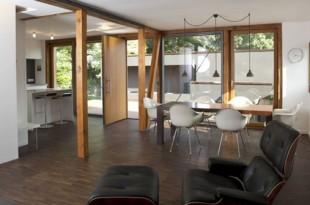La composición de los apartamentos modernos