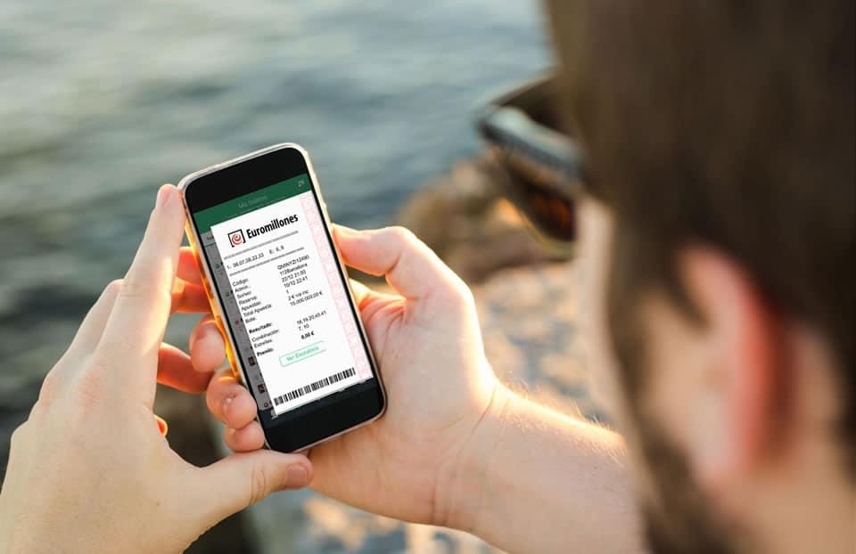 Cada vez se juega más a la lotería con aplicaciones móviles