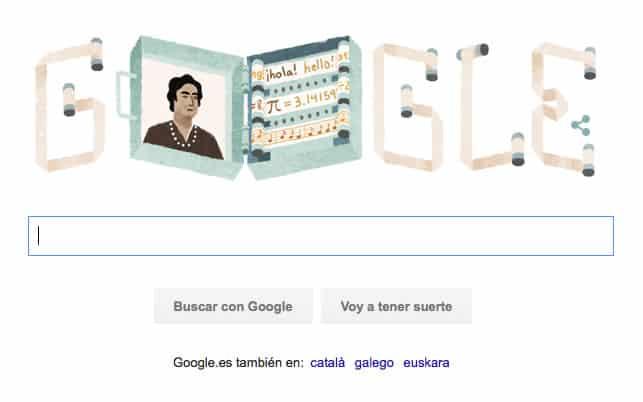 Doodle Google Enciclopedia mecánica