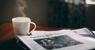 Periódicos en papel y almacenamiento en la nube