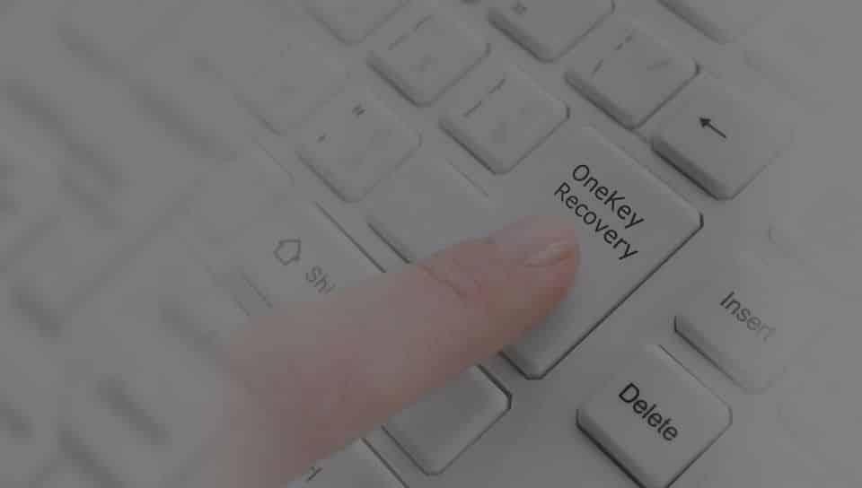 Recuperar el sistema operativo con AOMEI OneKey Recovery