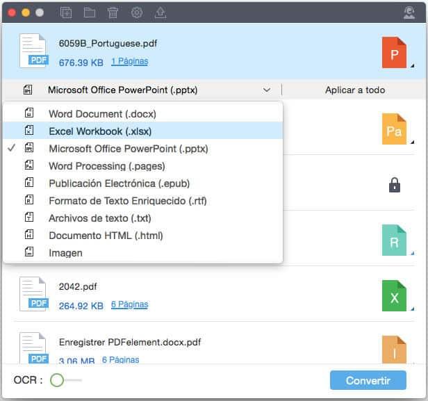 Wondershare PDF Converter Pro para Mac