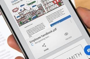 Adobe Scan, para utilizar un dispositivo móvil en una herramienta de escaneo inteligente