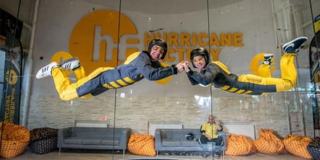 Hurricane Factory Madrid presenta su nuevo túnel de viento
