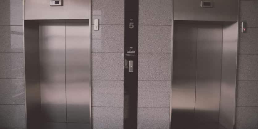 Un peculiar viaje en ascensor
