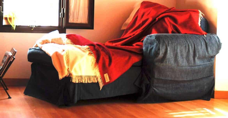 Las mantas para vencer el frío