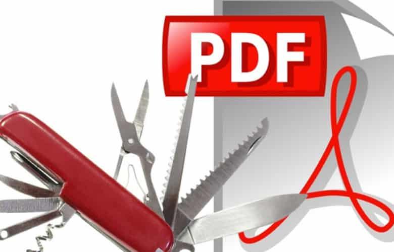 Manipular archivos PDF en línea