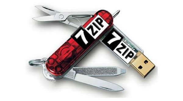 Actualización de 7-Zip, para trabajar con archivos comprimidos
