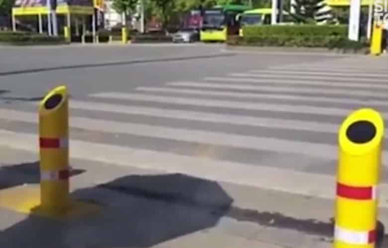 Lo que han puesto en marcha en China para que nadie cruce un semáforo en rojo
