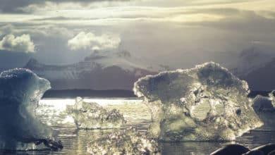 El volumen de la capa de hielo de la Antártida está disminuyendo