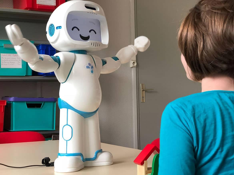 El robot que ayuda a niños con autismo