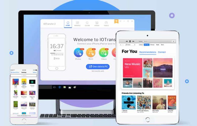 Cómo manejar todo tipo de datos en iPhone/iPad desde Windows
