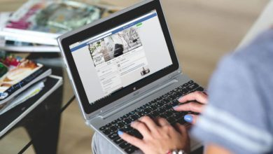 Photo of Facebook sin contenido con Safebook