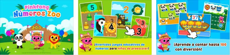 Pinkfong Números Zoo