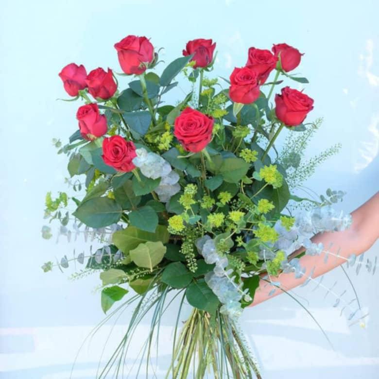 Si quieres triunfar en el amor: flores