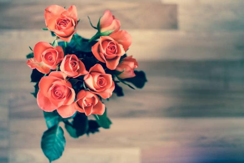Regalar rosas, un clásico que no pasa de moda