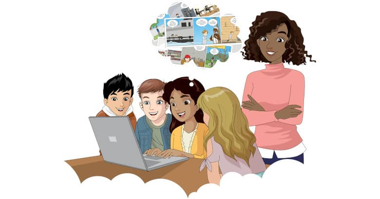 Photo of Generar comics en la Web con Pixton