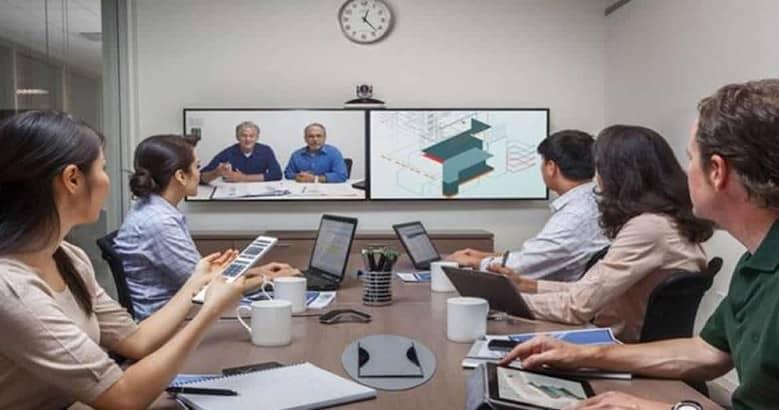 Software para efectuar conferencias y compartir información