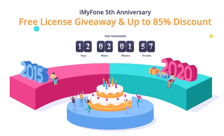 iMyFone 5th Anniversary