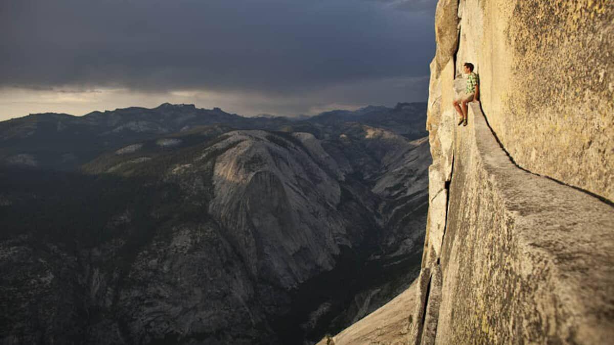 Meditando en las alturas