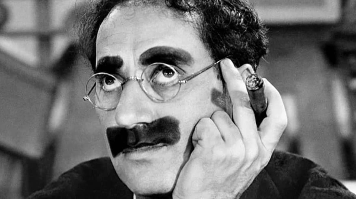 La genialidad de Groucho Marx