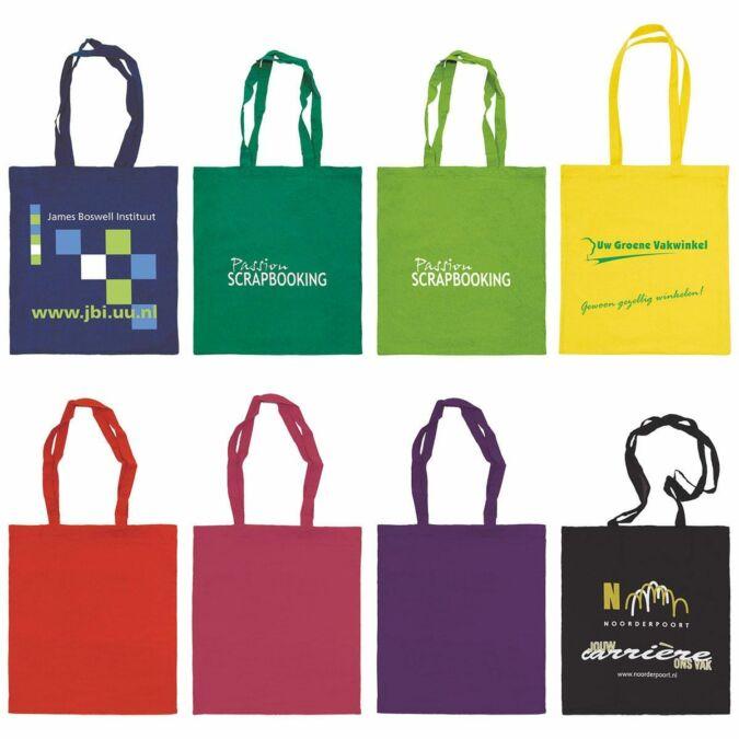 El objetivo de las bolsas de tela es satisfacer al cliente