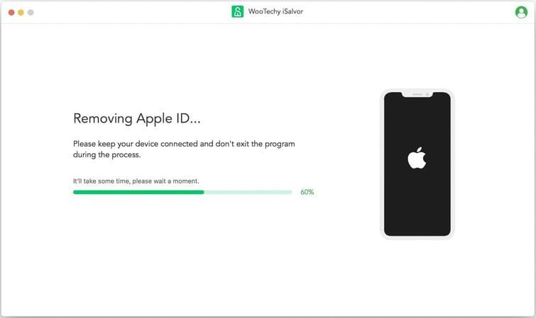 Remove Apple ID...