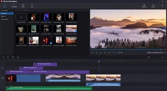 MiniTool MovieMaker