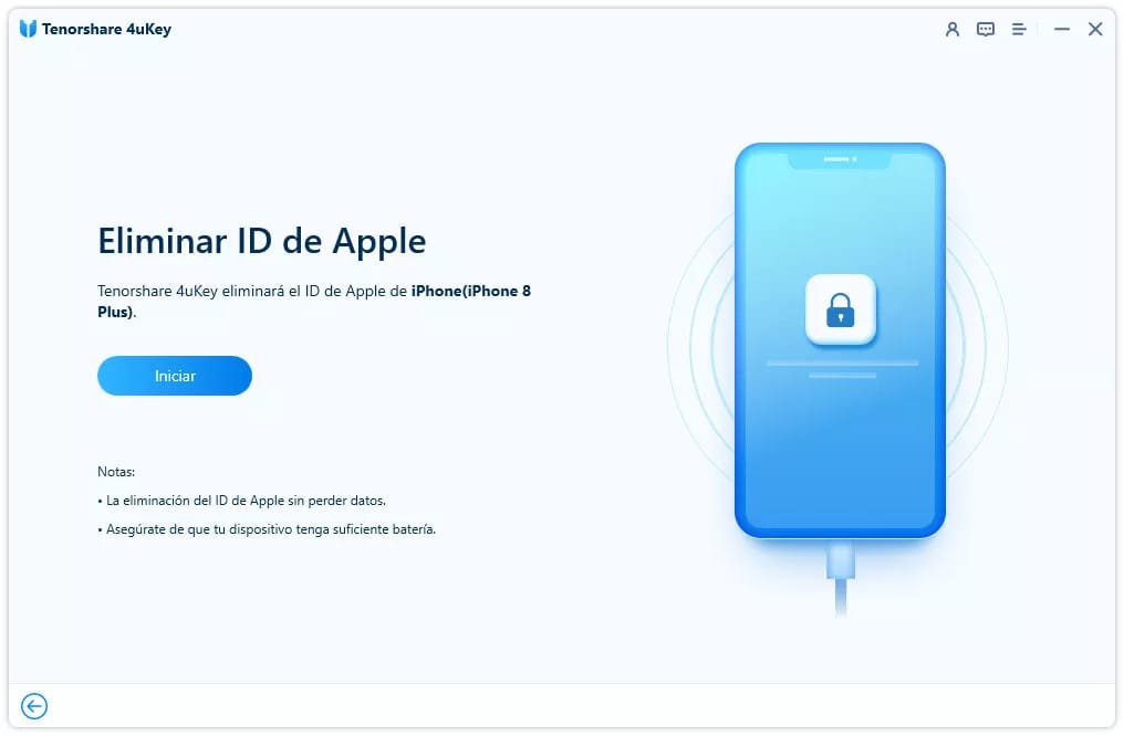 Eliminar ID de Apple