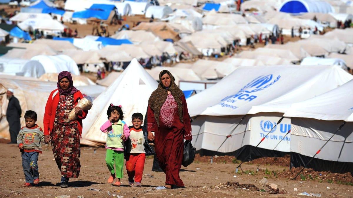 Los campos de refugiados y las guerras que obligan a su creación