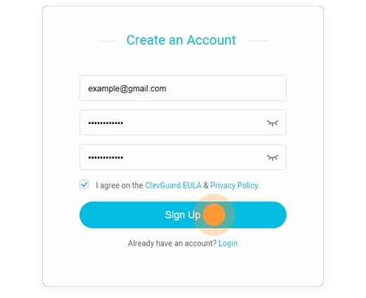 Crear una cuenta