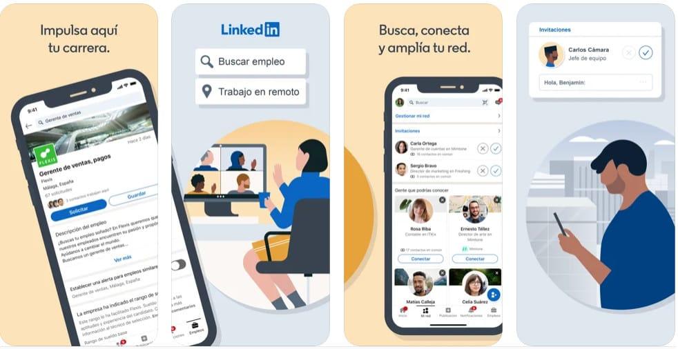 Linkedin Búsqueda de empleo