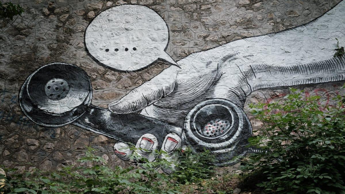 StumpChair, diseño y arte callejero